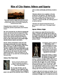 Informational Text - Ancient Greece: Athens and Sparta