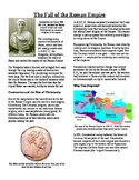 Informational Text - Ancient Rome: The Fall of the Roman Empire (No Prep)
