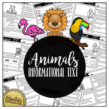 Informational Text: Animals | Reading Comprehension Passages and Questions