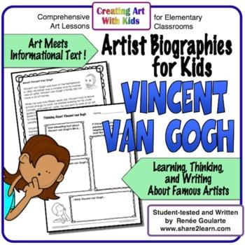 Informational Text Artist Biography Vincent van Gogh
