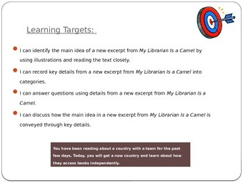 Informational Text Assessment (EL M1, U3, L9)
