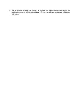 Informational Text Assignment