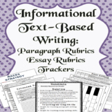 RACES Paragraphs and Essay for Informational Text-Based Writing