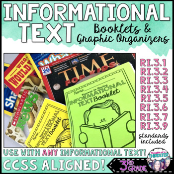 Informational Text Booklet and Graphic Organizers