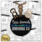 Informational Text: Brr! Animals!