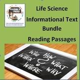 Science Informational Text Bundle Non-Fiction Reading & comprehension questions
