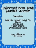 Informational Text Bundle: Winter {Common Core Aligned}