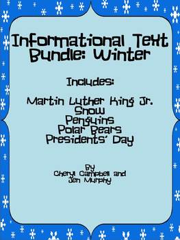Informational Text Bundle: Winter {Common Core Aligned}