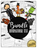 Informational Text Bundle | Reading Comprehension Passages