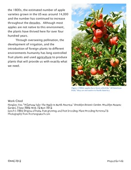 Informational Text: CCSS Assessment Gardening & Health