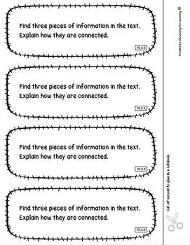 Reading Exit Slips 2nd Grade Informational Text CCSS