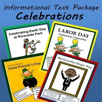 Informational Text Celebrations Package