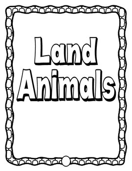 Informational Text - Class Book on Animals