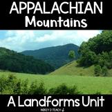 Appalachian Mountains - Informational Text Close Reading Activities