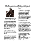 Informational Text - Colonial America in Global Stuggle: Treaty of Paris 1763