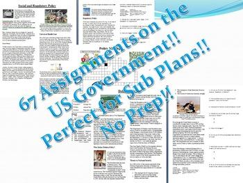Informational Text - Complete Unit 67 Articles: US Gov Sup