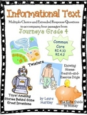 Common Assessments: Journeys Grade 4 Informational Texts