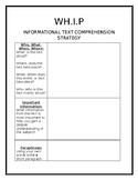 Informational Text Comprehension Strategy