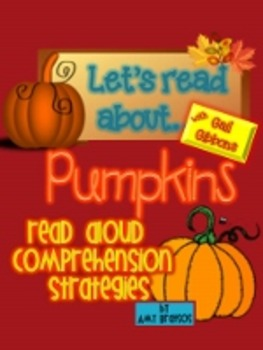 Informational Text Comprehension with My Pumpkin Book by Gail Gibbons