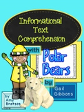 """Informational Text Comprehension with """"Polar Bears"""" by Gail Gibbons"""