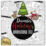 Informational Text: December Holidays | Reading Comprehens
