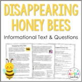 Disappearing Honey Bees Reading and Questions