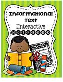 Informational Text Elements Interactive Notebook