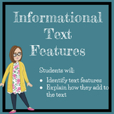 Informational Text Features