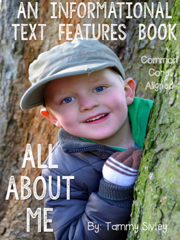 Informational Text Features All About Me Book