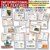 Informational Text Features | Anchor Charts | Non-Fiction