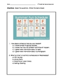 Informational Text Features Assessment