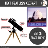 Informational Text Features Clipart - Set 3