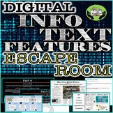 Informational Text Features Escape Room