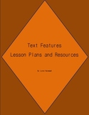 Informational Text Features Lesson Plan Pack