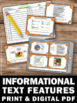 Informational Text Features Nonfiction Reading Comprehensi