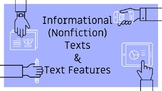 Informational Text Features Notes