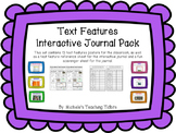 Informational Text Features Pack