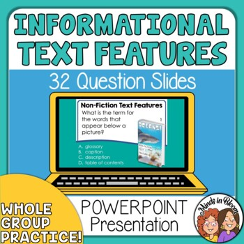 Informational Text Features PowerPoint