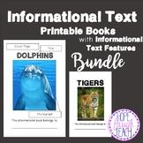 Informational Text Features Practice Books Bundle