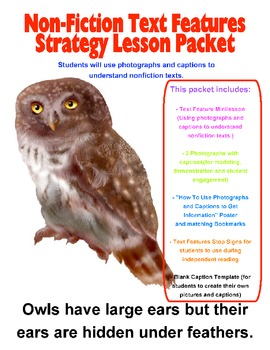 Informational Text Features Lesson Packet