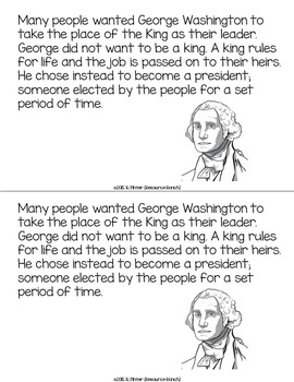 Presidents' Day Guided Reading