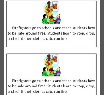 Informational Text Fire Safety