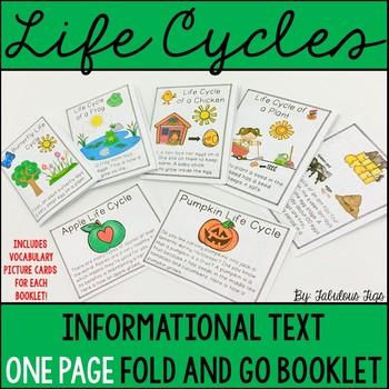 Informational Text Foldable Booklet Bundle (Growing Bundle)
