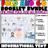 Informational Text Foldable Booklet Bundle (Growing Bundle)