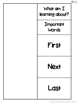 Informational Text Foldable Reading Responses - Common Core Aligned