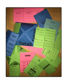 Informational Text Foldables & Flapbooks {CCSS aligned}