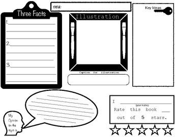 Informational Text Graphic Organizer