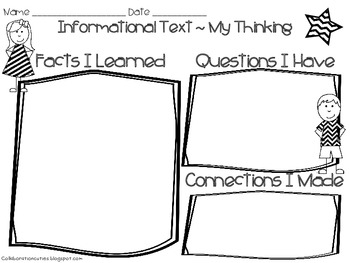 Informational Text Graphic Organizer {use with any text}