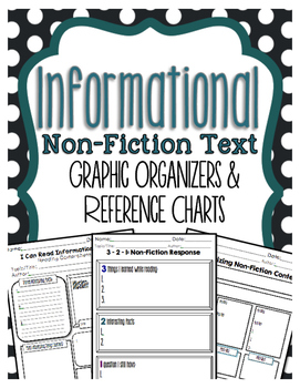 Informational Text Graphic Organizers for Guided Reading