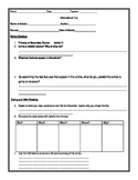 Informational Text Guided Questions and Activities
